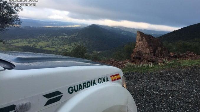 La Guardia Civil ha esclarecido varios robos cometidos en Almonaster la Real y Los Romeros