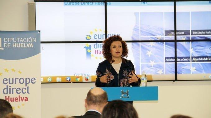 María Eugenia Limón, vicepresidenta de la Diputación de Huelva, ha inaugurado la jornada
