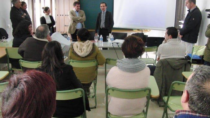 Jornada sobre incentivos al autónomo, celebrada en Jabugo