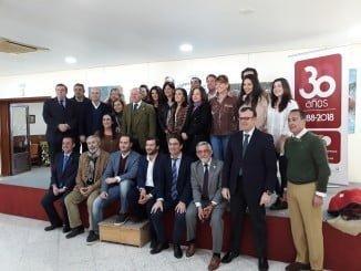 Jurado de la XVI edición de los premios de la asociación de antiguos alumnos de la UHU
