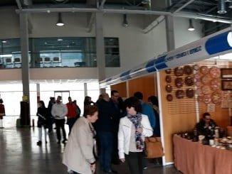Panorámica de la Feria de Artesanía de Aracena