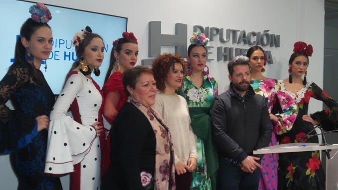 La Diputación de Huelva acoge la presentación de la Pasarela Huelva Flamenca