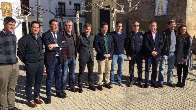 Presentación del proyecto de abastecimiento de agua para parte de la Sierra de Aracena y Picos de Aroche