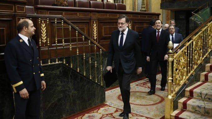 Mariano Rajoy en la Sesión de control en el Congreso