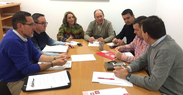 Reunión del PSOE con Acaip