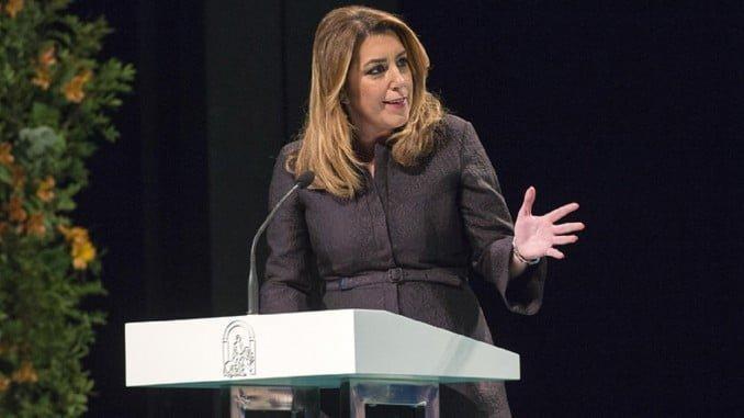 La presidenta de la Junta interviene en el acto conmemorativo del Día de Andalucía