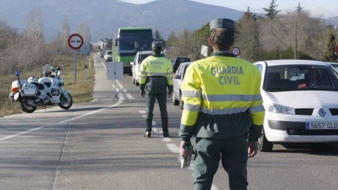 71 vehículos han sido inmovilizados en Andalucía en el momento de realizarles el control, 48 de los cuales eran turismos