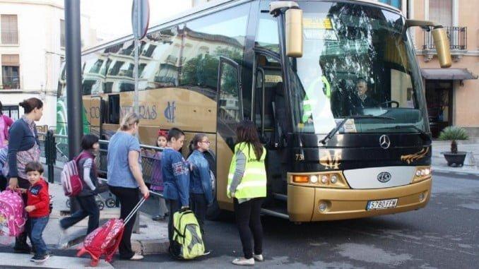 Los autobuses escolares serán objeto de una vigilancia especial de la DGT