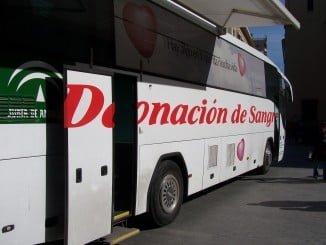 Además de poder donar en el Autobús de la Donación, los onubenses pueden acudir fuera de campaña al Centro de Transfusiones ubicado en el Hospital Juan Ramón Jiménez