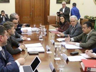 Reunión de la Comisión Interadministrativa que coordinará las ayudas por los temporales