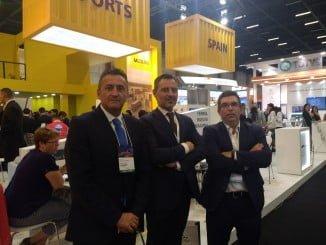 La delegación comercial del Puerto en la Intermodal South América
