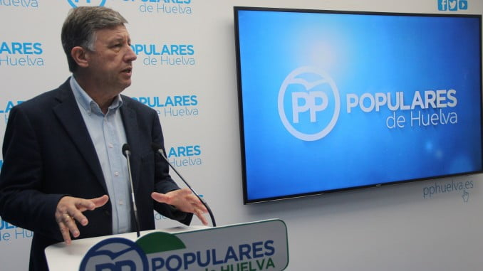 Carmelo Romero anuncia que el PP llevará al congreso la solicitud de ayudas por el temporal