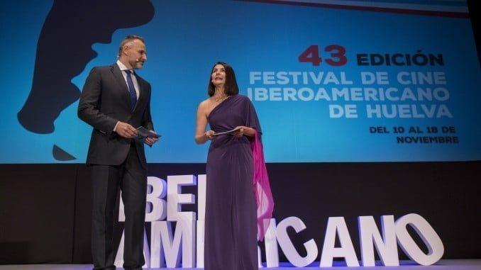Gala inaugural de la última edición del Festival de Cine Iberoamericano de Huelva
