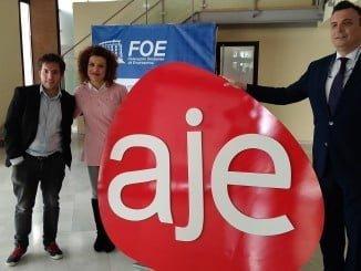Presentación de  los premios AJE