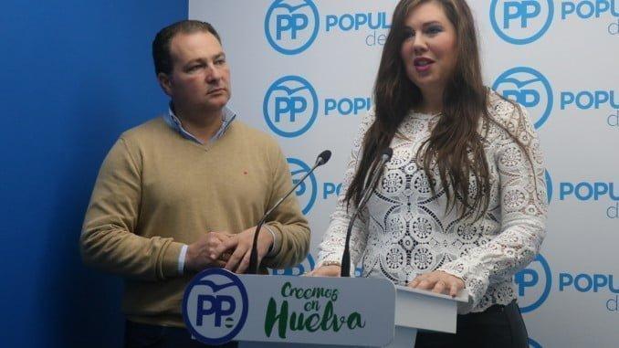 vicesecretaria de Organización, Formación, Electoral, Estudios y Programas, Redes Sociales y Condado y Campiña del PP de Huelva, Rocío Moreno,