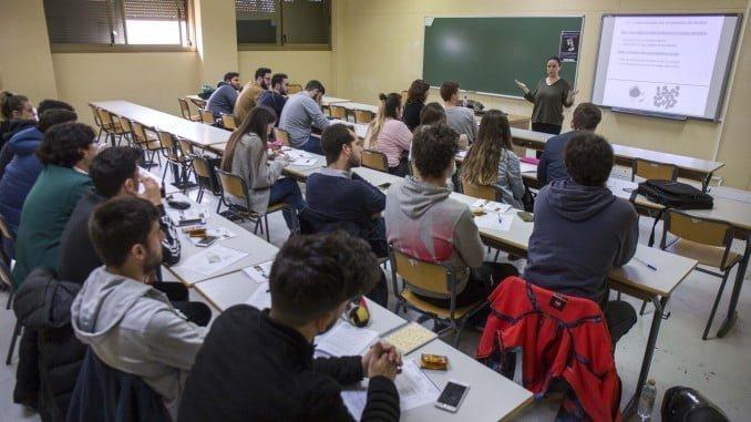 30 estudiantes han recibido un curso de formación de tres horas, que ha sido impartido por la responsable de campañas de la Federación Española de Bebidas Espirituosas (FEBE), Teresa Escalante