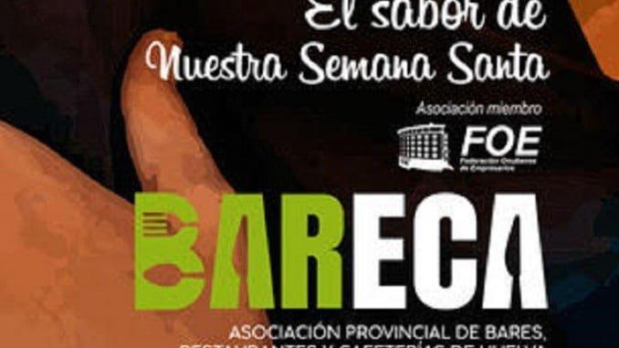 Cartel anunciador de la implicación de Bareca en la Semana Santa
