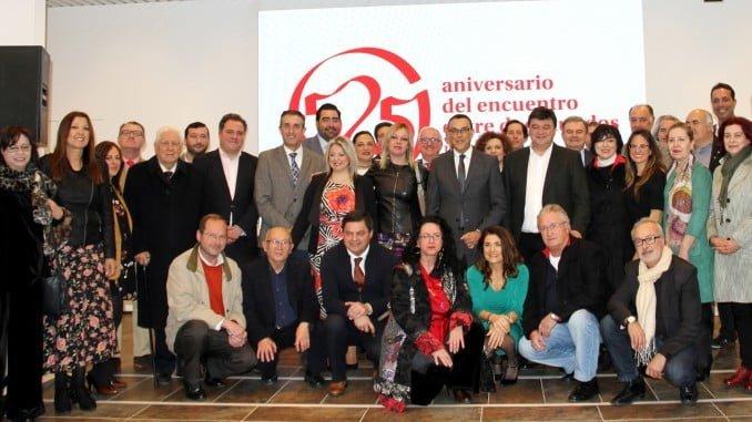 Autoridades en la clausura del 525 Aniversario del Encuentro entre dos Mundos