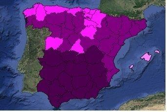 mapa morado