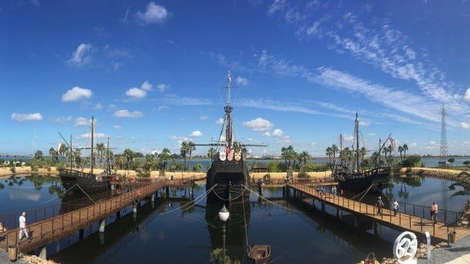 El Muelle de las Carabelas ofrece durante cuatro días actividades gratuitas