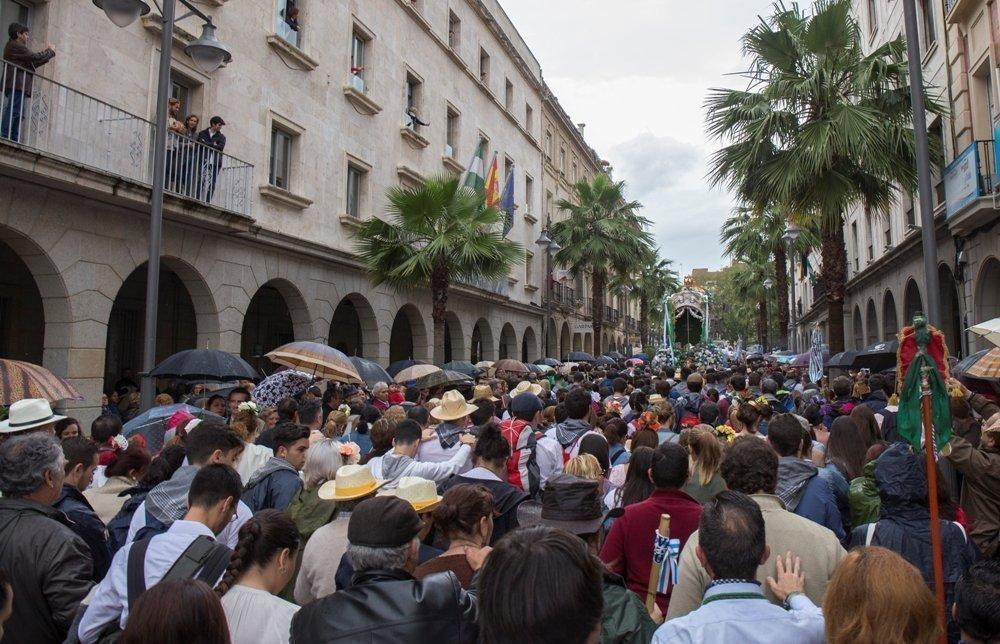 HUELVA , 12/05/16 HUELVA - Hermandad del Rocio de Huelva . Foto: AYUNTAMIENTO DE HUELVA , ALBERTO DIAZ