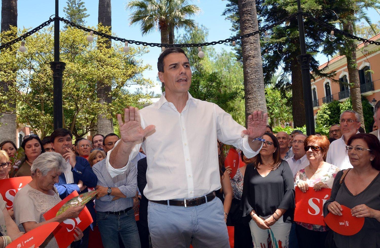 Pedro Sanchez en Huelva PSOE006