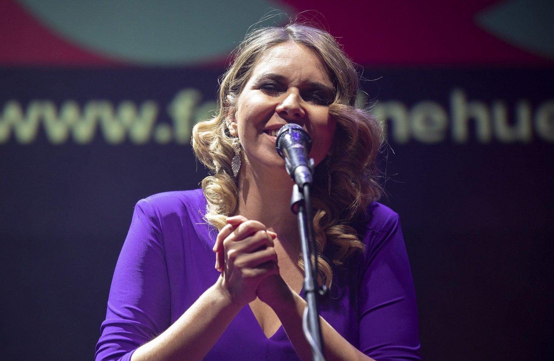 Actuación de Rocío Márquez durante la gala