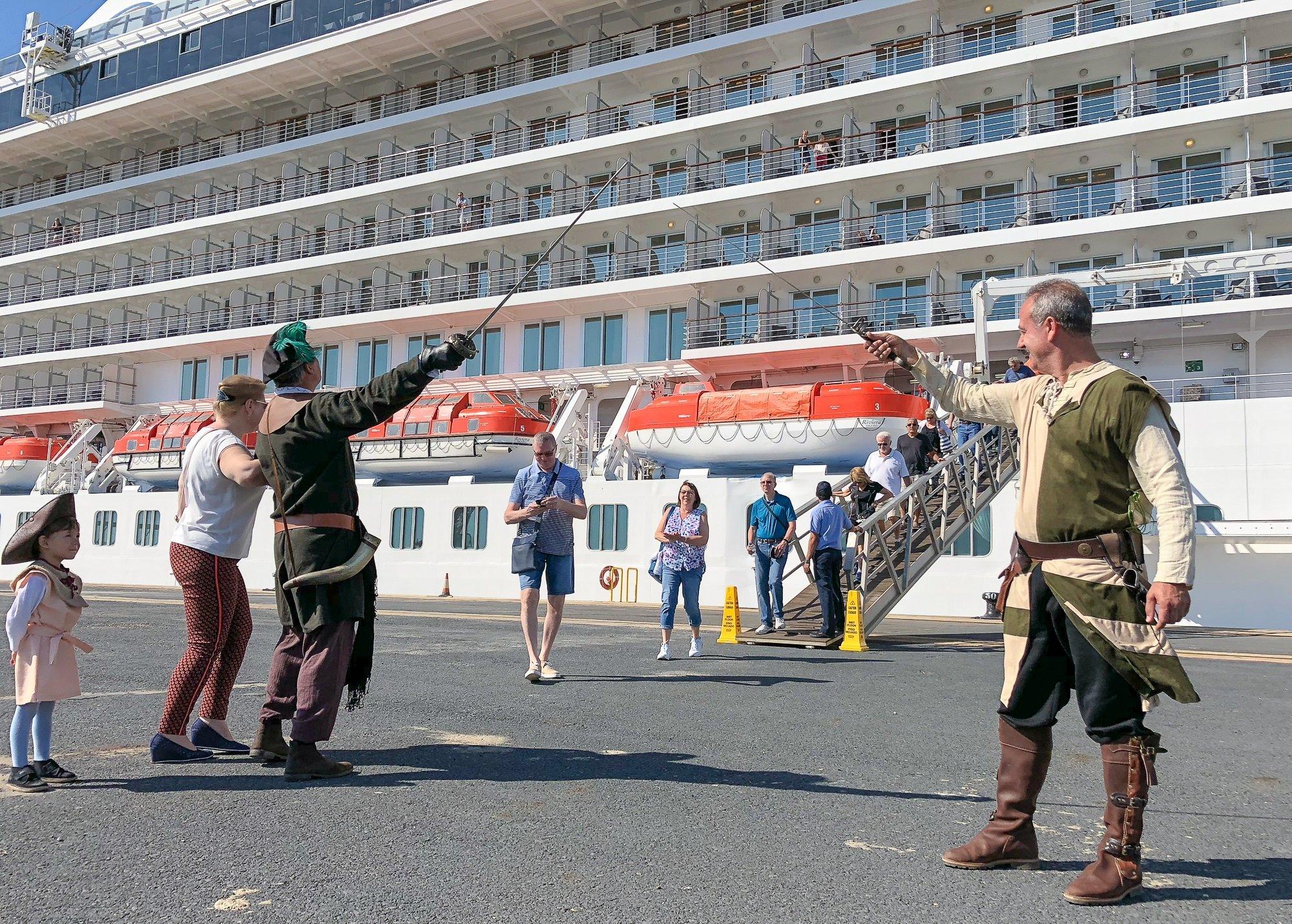 Crucero MS Riviera - Puerto de Huelva-11