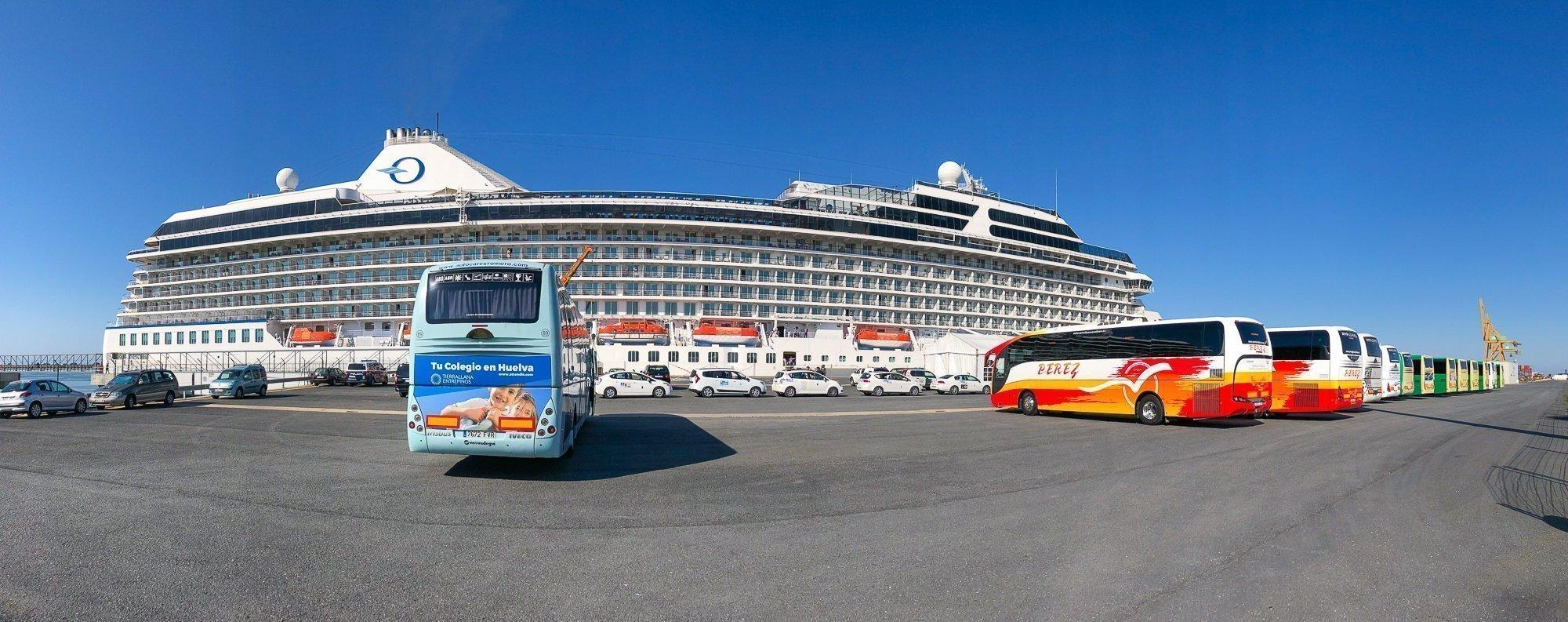 Crucero MS Riviera - Puerto de Huelva-2