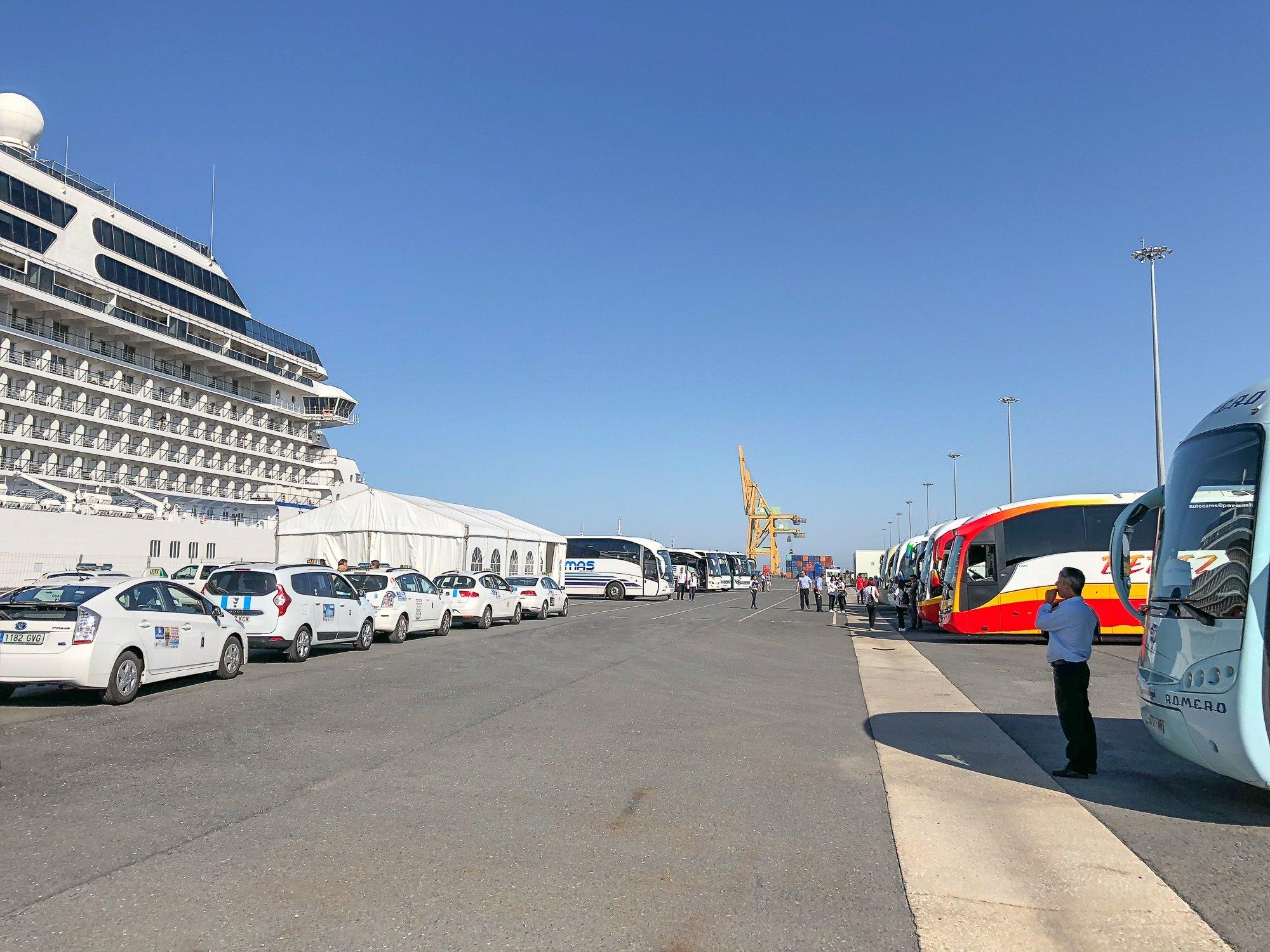 Crucero MS Riviera - Puerto de Huelva-3