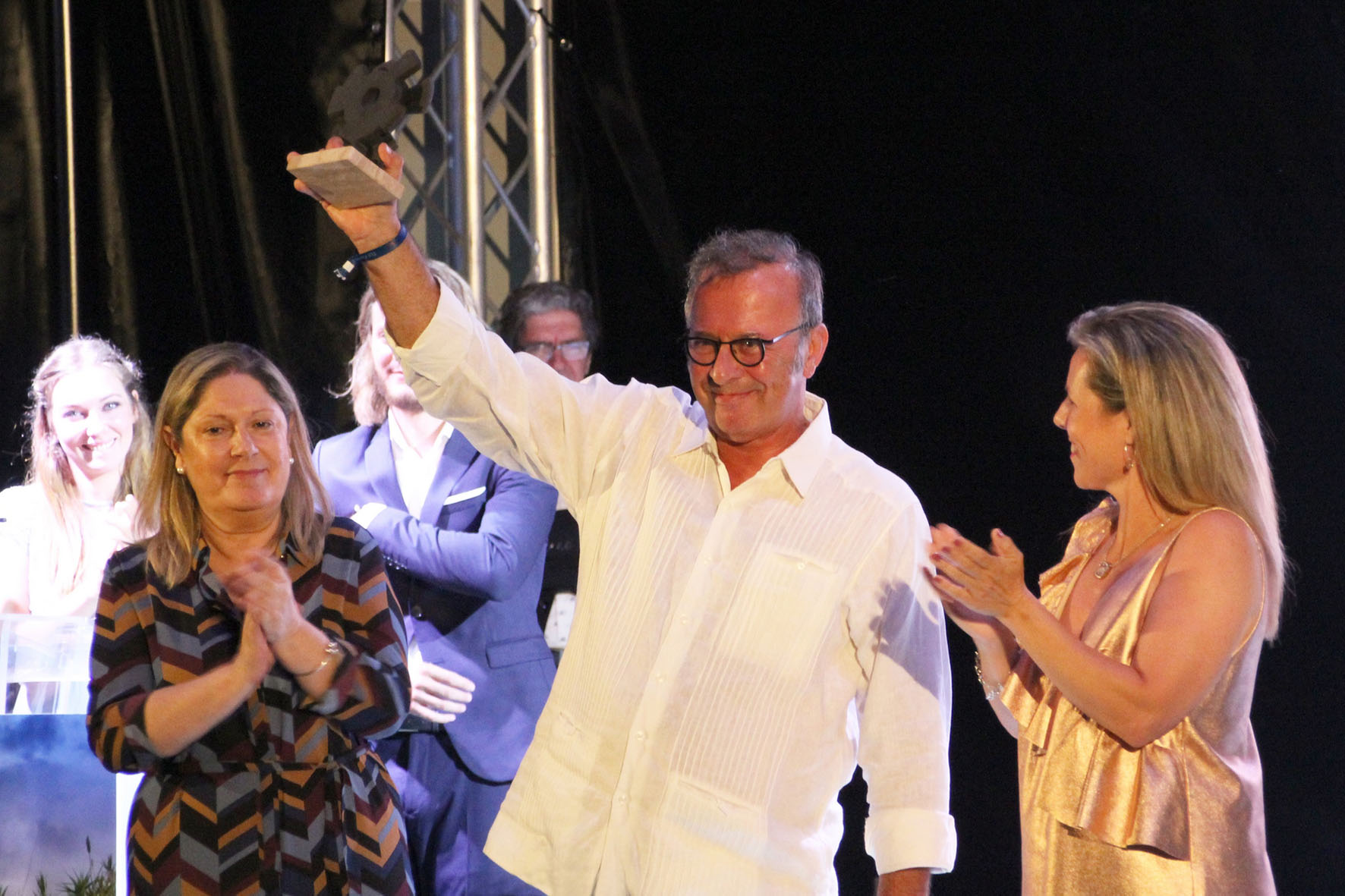 2018 07 07 Inauguración del XI Festival de Islantilla - Homenaje a Antonio P. Pérez (1)
