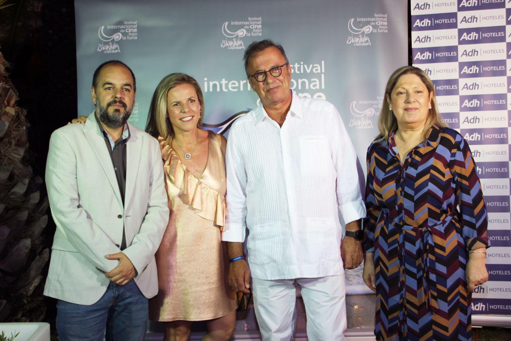 2018 07 07 Inauguración del XI Festival de Islantilla - Homenajeado, Director y Ayuntamientos (1)
