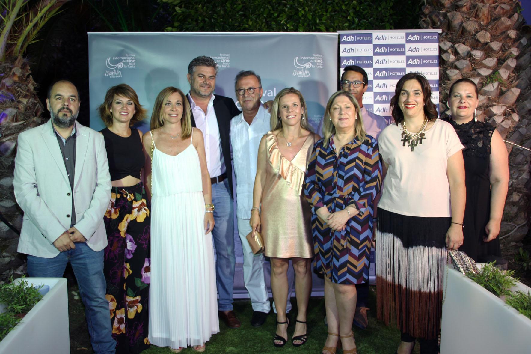 2018 07 07 Inauguración del XI Festival de Islantilla - Homenajeado, Equipos de Gobierno y Hotel