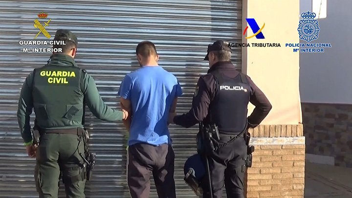 detenido operación narcotráfico Huelva