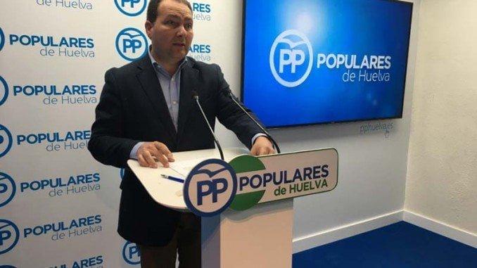 El PP de Huelva pide a la Diputación que intervenga para solucionar la exclusión de los regantes del plan de la Corona Norte y denuncia que que la Junta ha dejado a cientos de agricultores sin poder regar sus campos