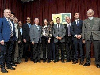 La Fundación Caja Rural del Sur ha premiado a la Cooperativa San Isidro Labrador, de Chucena; el Laboratorio Agroalimentario de Córdoba a al olivicultor beasino Diego Pérez Ruiz.