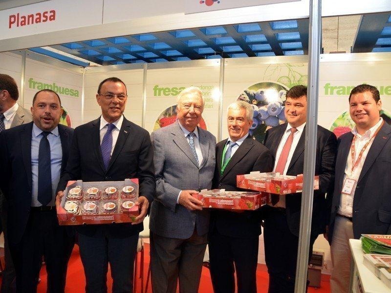 Los frutos rojos de Huelva generan 44.000 millones de euros a la economía