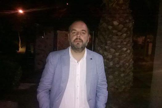Estéban Magaz, director del festival mostraba tas la gala su satisfacción