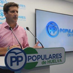 García Longoria pide explicaciones a la Junta sobre el caso de las demoras del SAS en Huelva
