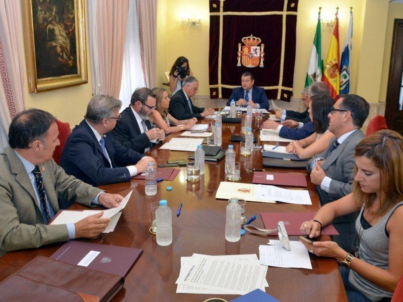 Un momento de la Comisión Territorial de Asistencia al Delegado celebrada en Huelva