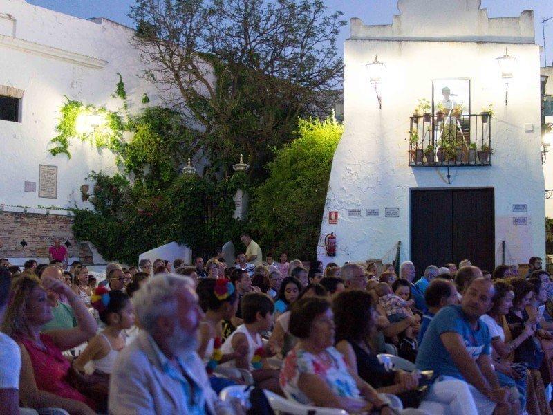 El público en la Jabonería se quedó encantado con las actuaciones