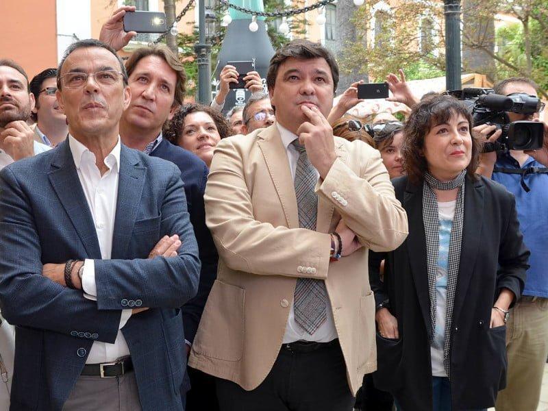"""Caraballo, Cruz y Tobar esperando el """"beredicto"""""""