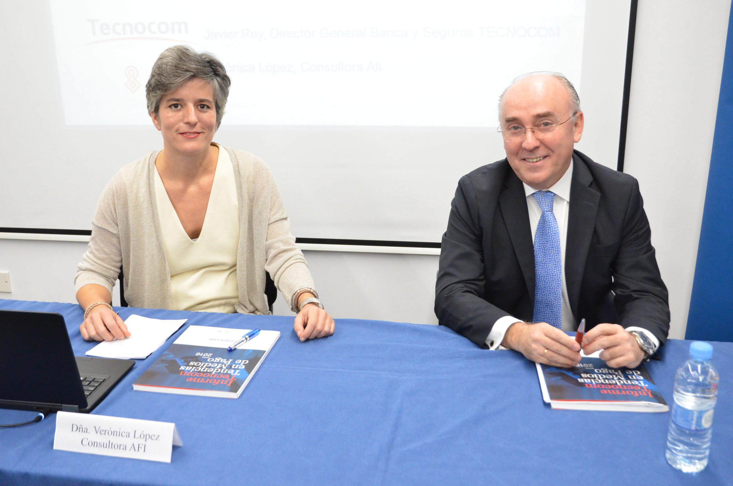 Verónica López (Consultora AFI) - Javier Rey (Director General Banca y Seguros Tecnocom)