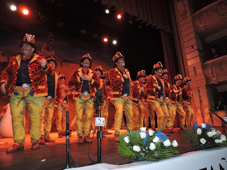 La comparsa de Punta Umbría,  'Los Salvadores' estará en la semifinal.
