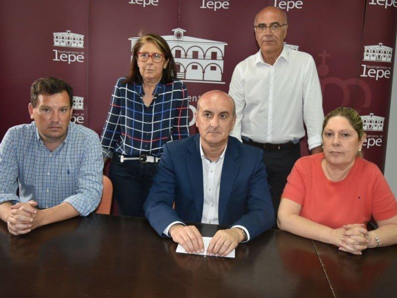 El equipo de Gobierno de Lepe