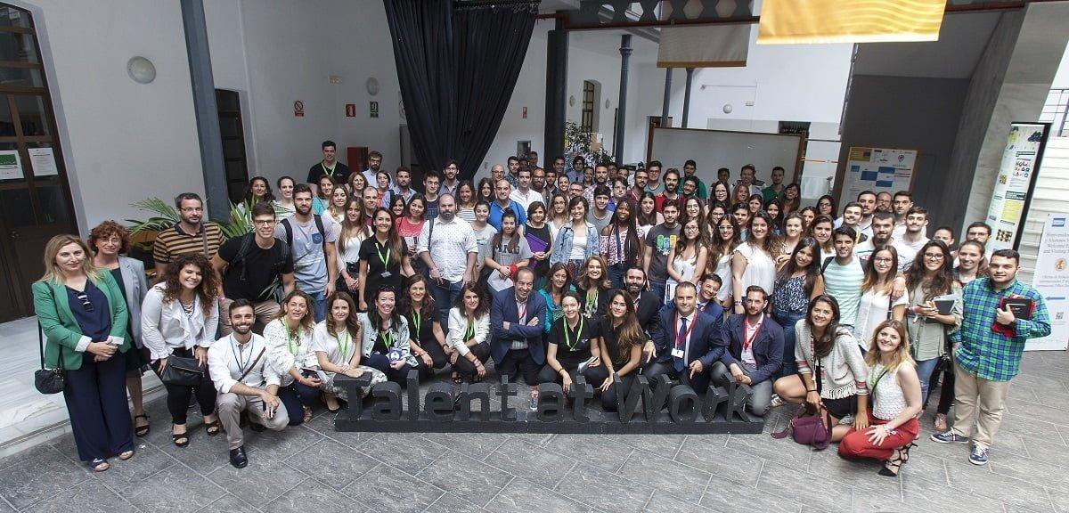 Talent at Work en la Universidad de Cádiz. Foto de familia