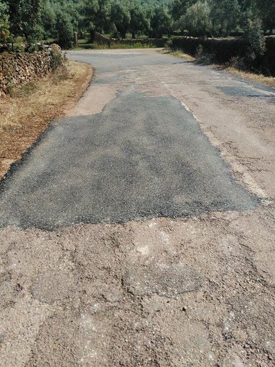 El Ayuntamiento exige el asfaltado de esta importante vía para el municipio