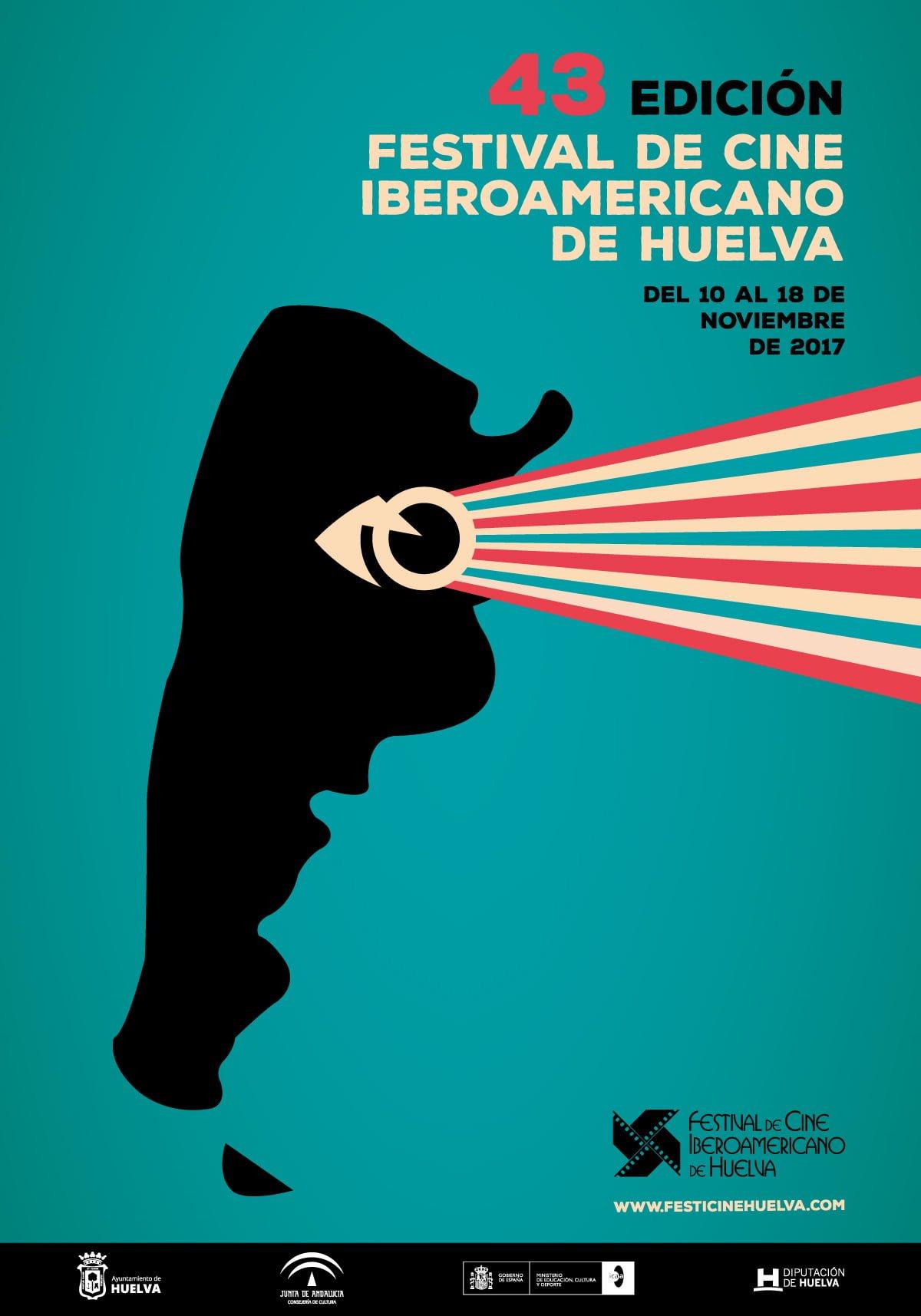 Cartel de la 43 Edición del Festival de Cine Iberoamericano