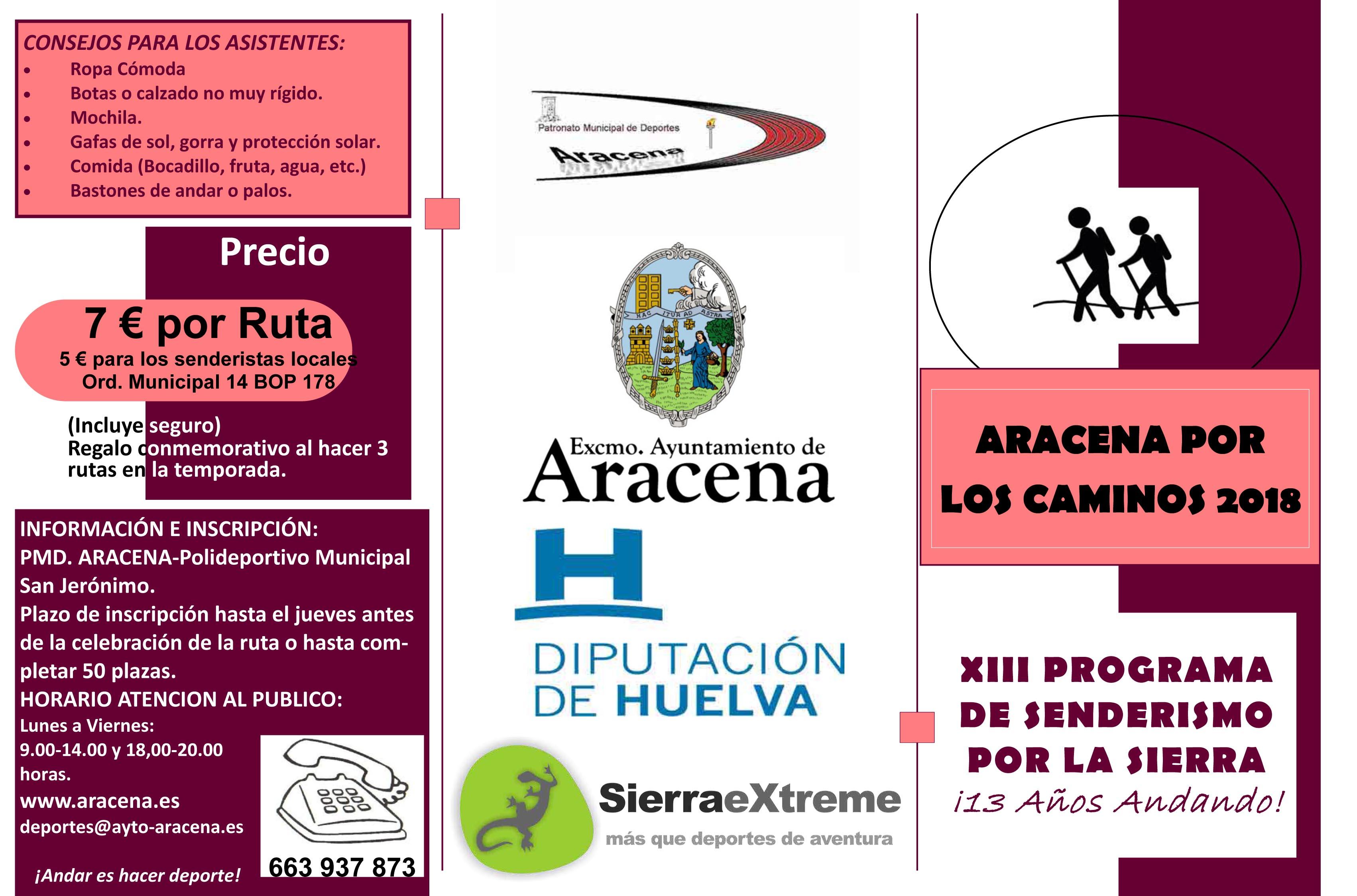 ARACENA POR LO CAMINOS 2018-1
