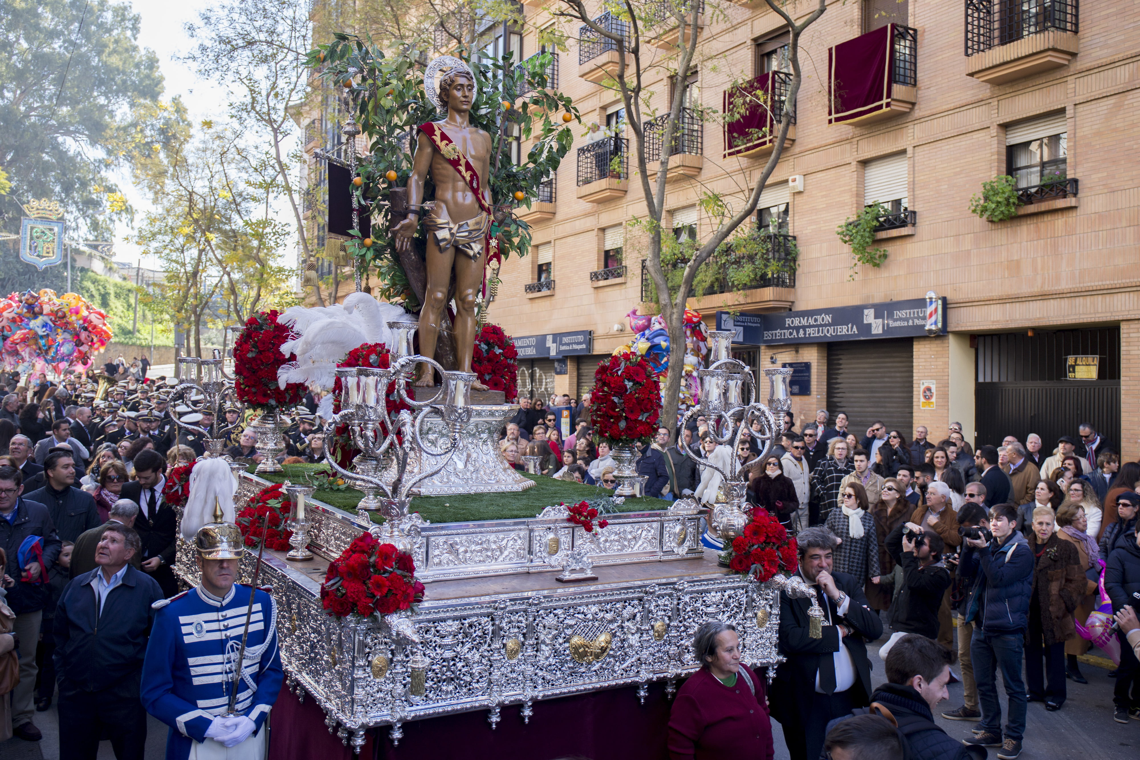 San Sebastián procesionará de nuevo por las calles de Huelva